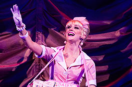 Kaye Murphy as the Usherette